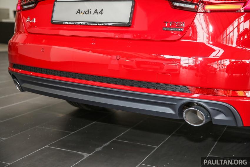 GALERI: Audi A4 1.4 TFSI, A4 2.0 TFSI quattro baharu di M'sia – masing-masing berharga RM219k, RM315k Image #644407