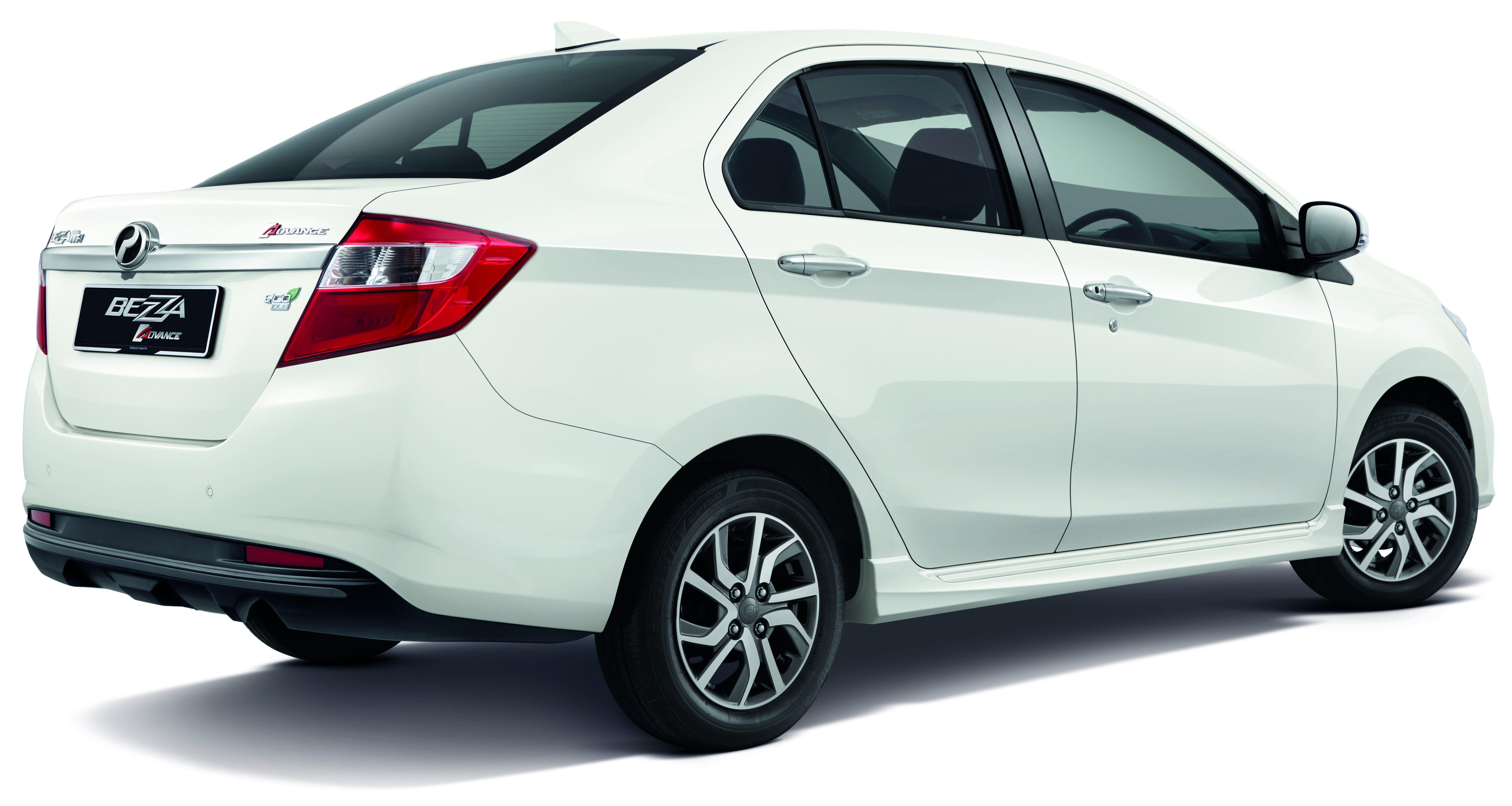 perodua new release carPerodua Bezza updated new rear bumper chrome interior trim