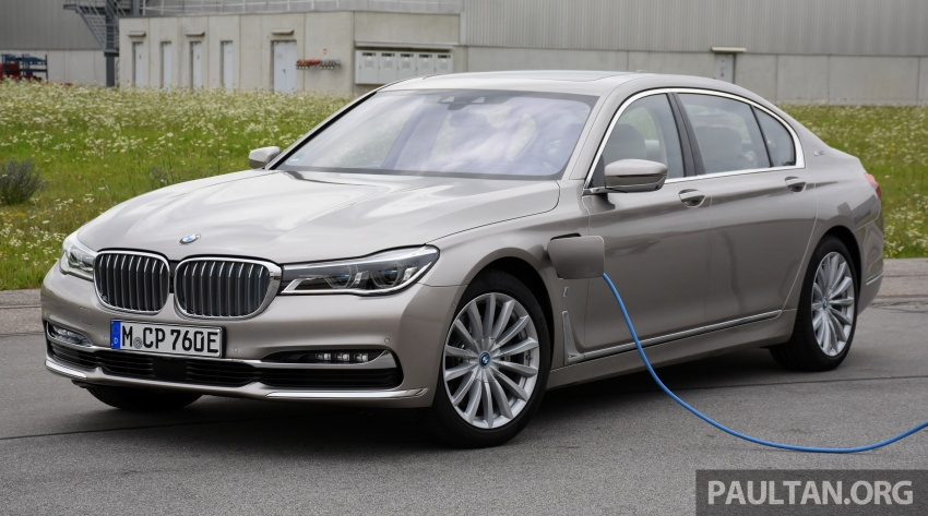 DRIVEN: BMW 740Le xDrive plug-in hybrid in Munich Image #647261