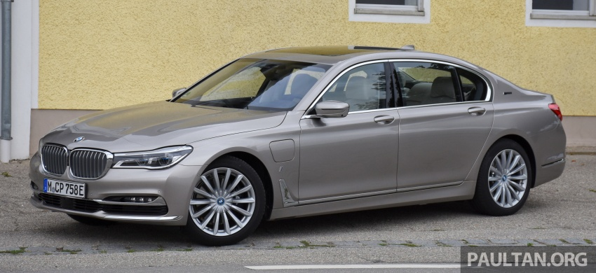 DRIVEN: BMW 740Le xDrive plug-in hybrid in Munich Image #647270
