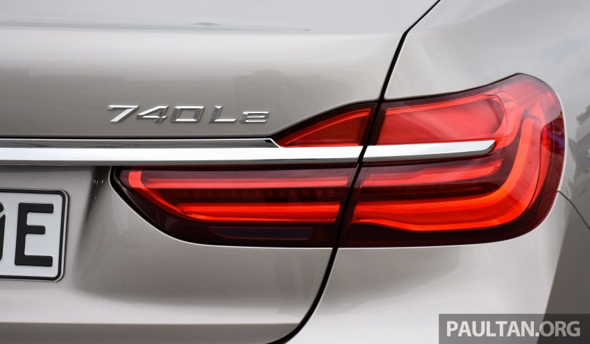 DRIVEN: BMW 740Le xDrive plug-in hybrid in Munich Image #647271