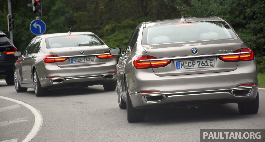 DRIVEN: BMW 740Le xDrive plug-in hybrid in Munich Image #647277