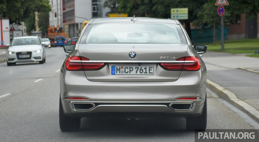DRIVEN: BMW 740Le xDrive plug-in hybrid in Munich Image #647278