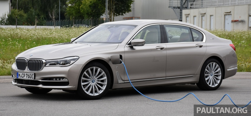 DRIVEN: BMW 740Le xDrive plug-in hybrid in Munich Image #647262