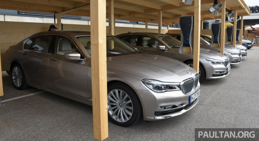 DRIVEN: BMW 740Le xDrive plug-in hybrid in Munich Image #647284