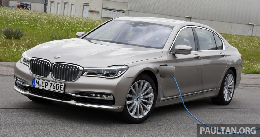 DRIVEN: BMW 740Le xDrive plug-in hybrid in Munich Image #647263