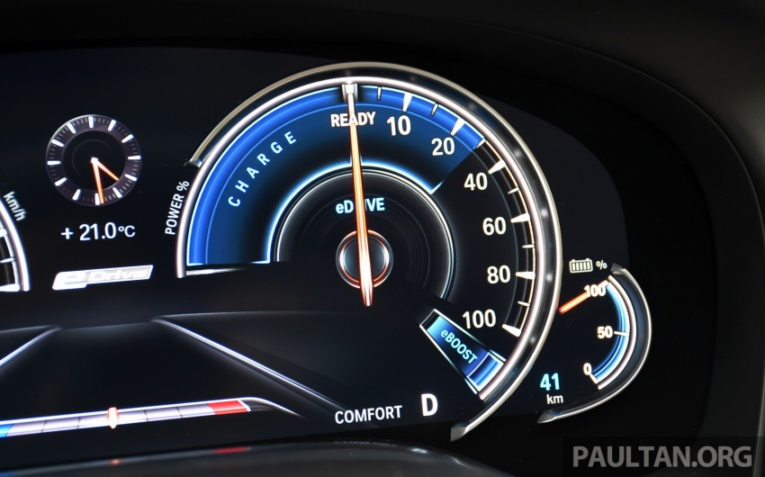 DRIVEN: BMW 740Le xDrive plug-in hybrid in Munich Image #647299