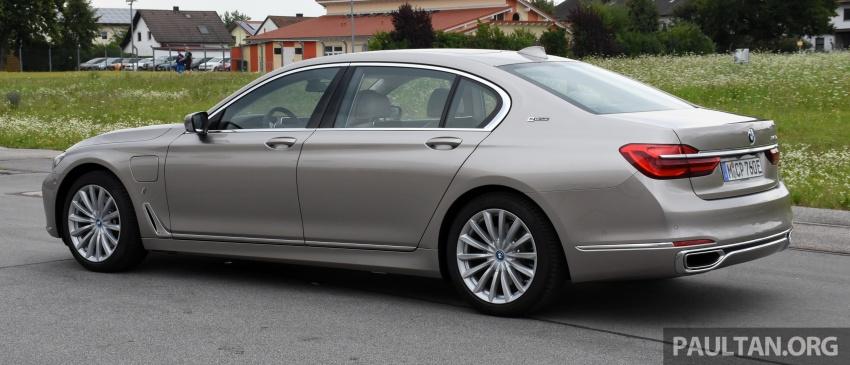 DRIVEN: BMW 740Le xDrive plug-in hybrid in Munich Image #647264