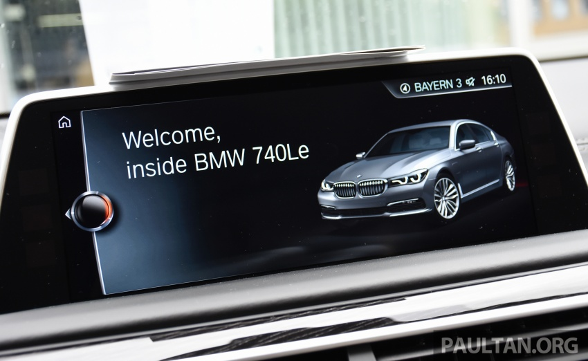 DRIVEN: BMW 740Le xDrive plug-in hybrid in Munich Image #647300