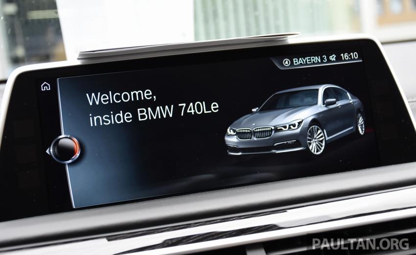DRIVEN: BMW 740Le xDrive plug-in hybrid in Munich Image #647300
