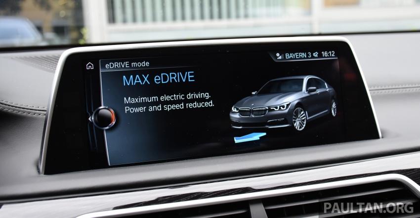 DRIVEN: BMW 740Le xDrive plug-in hybrid in Munich Image #647302
