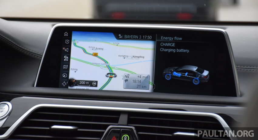 DRIVEN: BMW 740Le xDrive plug-in hybrid in Munich Image #647309