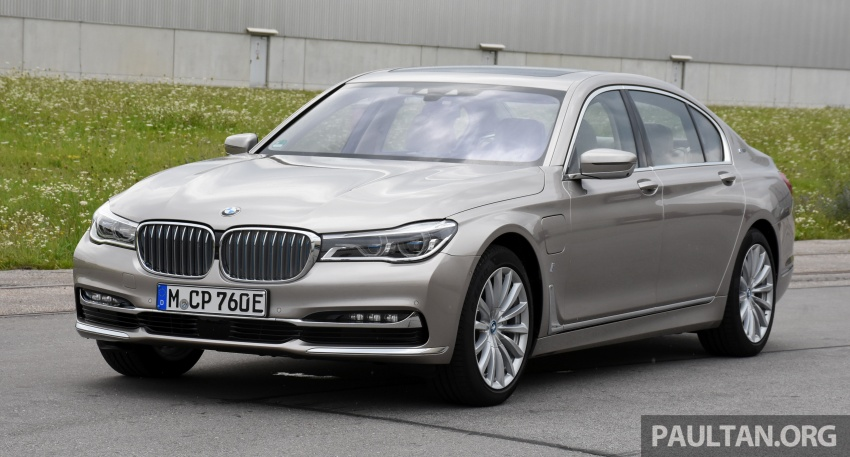 DRIVEN: BMW 740Le xDrive plug-in hybrid in Munich Image #647265