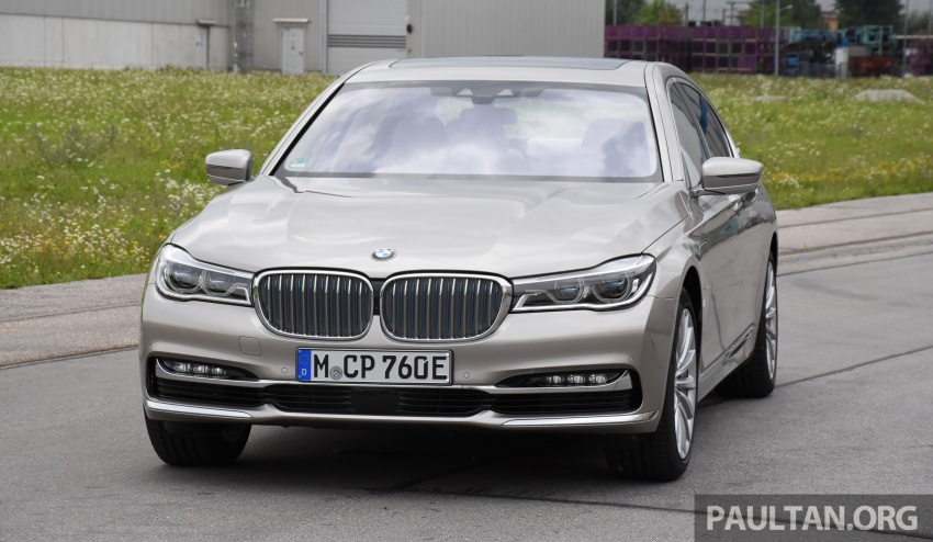 DRIVEN: BMW 740Le xDrive plug-in hybrid in Munich Image #647266
