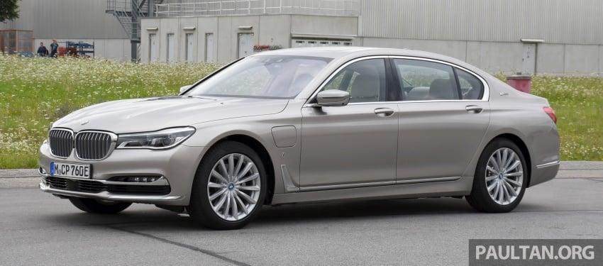 DRIVEN: BMW 740Le xDrive plug-in hybrid in Munich Image #647267