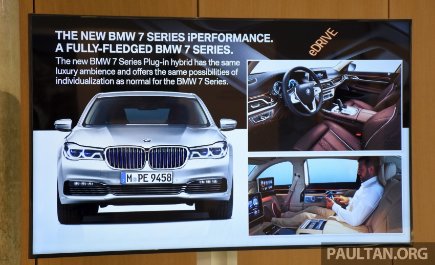 DRIVEN: BMW 740Le xDrive plug-in hybrid in Munich Image #647259
