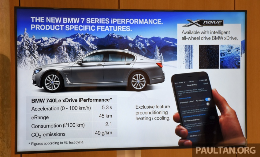 DRIVEN: BMW 740Le xDrive plug-in hybrid in Munich Image #647260