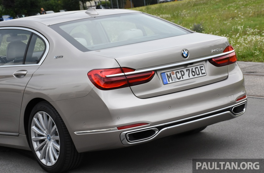DRIVEN: BMW 740Le xDrive plug-in hybrid in Munich Image #647268