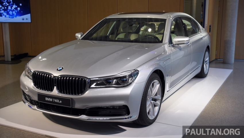 DRIVEN: BMW 740Le xDrive plug-in hybrid in Munich Image #647269