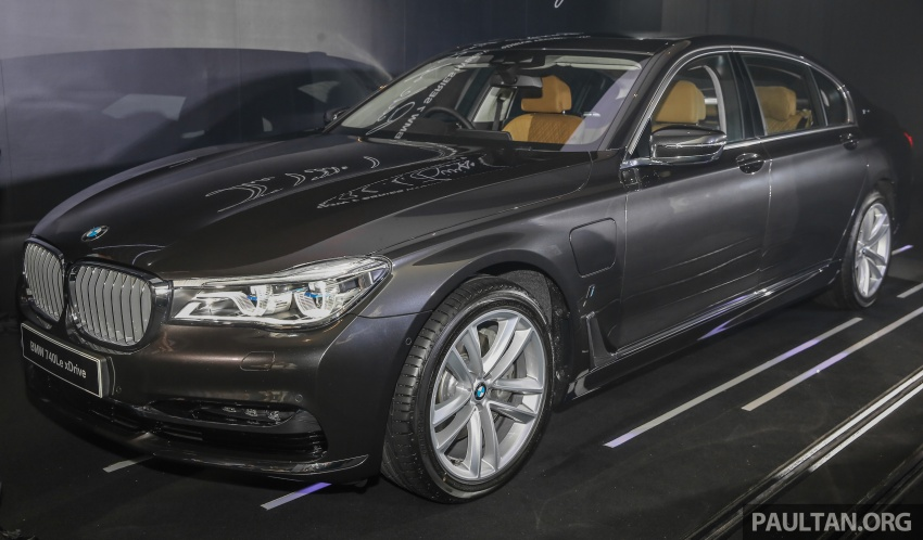 G12 BMW 7 Series plug-in hybrid officially introduced in Malaysia – 740Le xDrive, locally-assembled, RM599k Image #648032