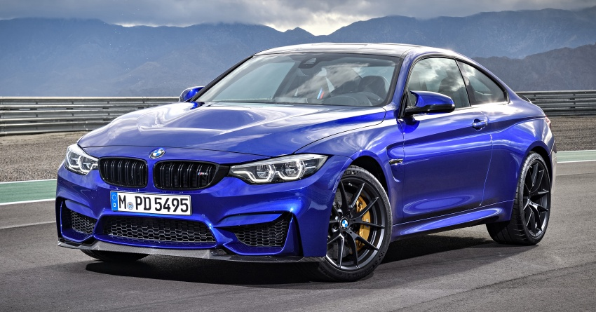 BMW M4 CS revealed with 460 hp, M4 GTS styling Image #647743