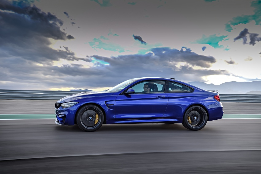 BMW M4 CS revealed with 460 hp, M4 GTS styling Image #647761