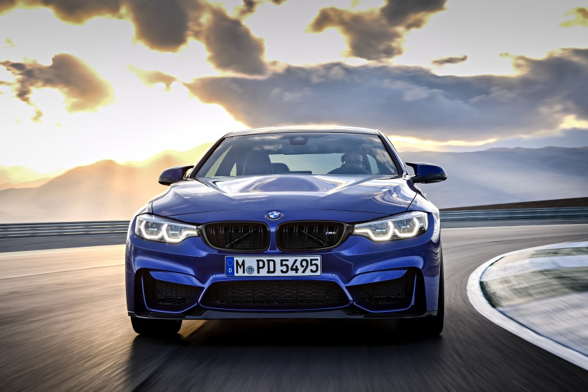 BMW M4 CS revealed with 460 hp, M4 GTS styling Image #647775
