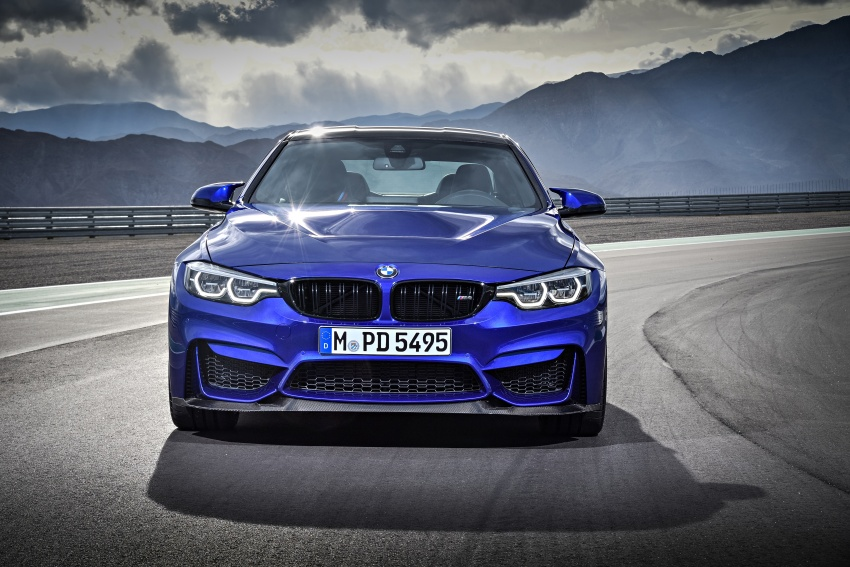 BMW M4 CS revealed with 460 hp, M4 GTS styling Image #647744