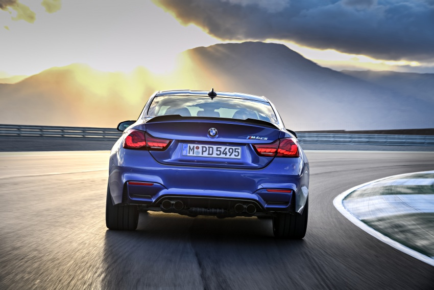 BMW M4 CS revealed with 460 hp, M4 GTS styling Image #647776