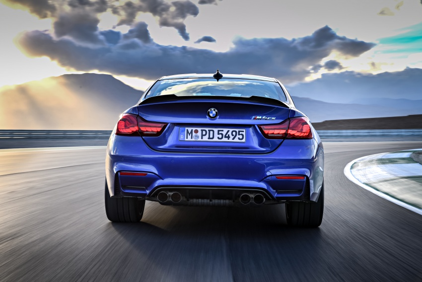 BMW M4 CS revealed with 460 hp, M4 GTS styling Image #647778