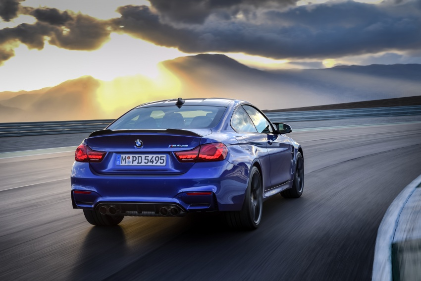 BMW M4 CS revealed with 460 hp, M4 GTS styling Image #647781