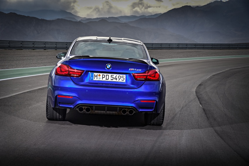 BMW M4 CS revealed with 460 hp, M4 GTS styling Image #647745