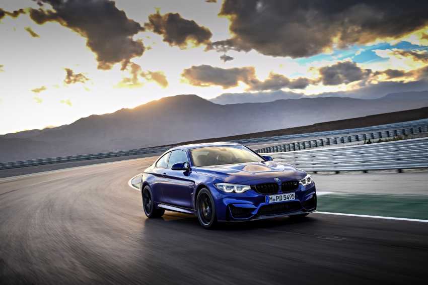 BMW M4 CS revealed with 460 hp, M4 GTS styling Image #647789