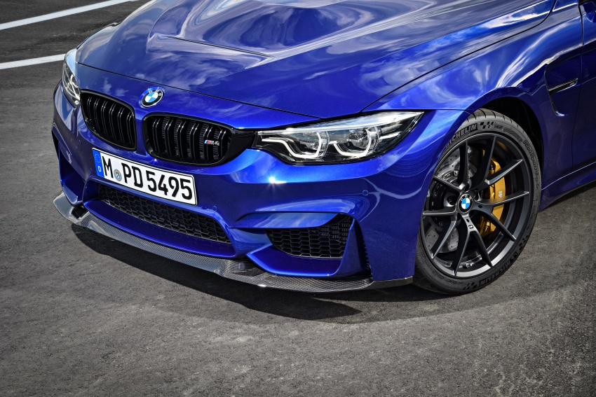 BMW M4 CS revealed with 460 hp, M4 GTS styling Image #647791