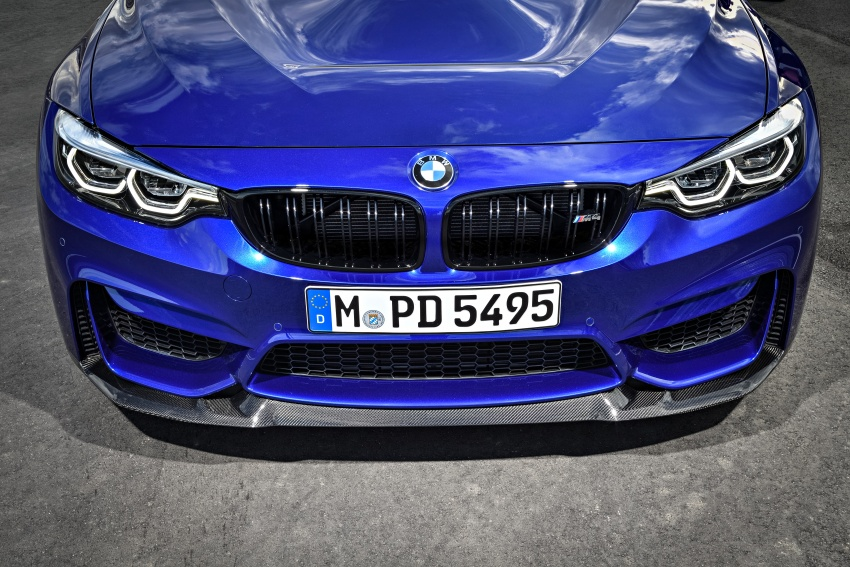 BMW M4 CS revealed with 460 hp, M4 GTS styling Image #647792