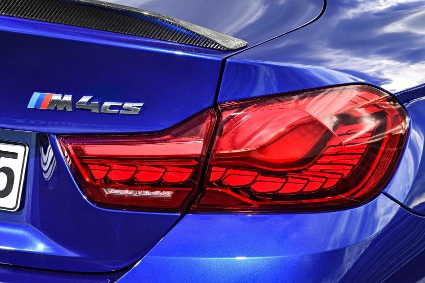 BMW M4 CS – gaya seperti M4 GTS, kuasa 460 hp Image #649830