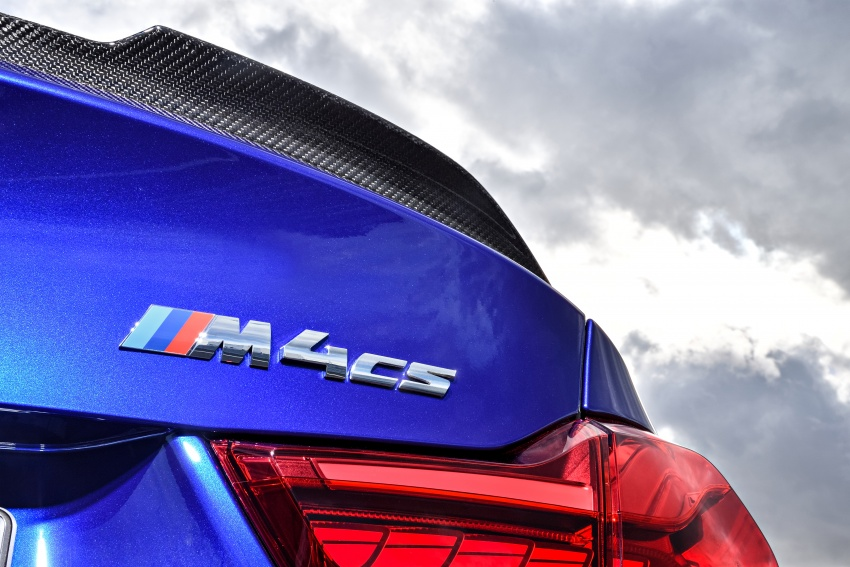 BMW M4 CS revealed with 460 hp, M4 GTS styling Image #647795