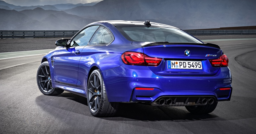 BMW M4 CS revealed with 460 hp, M4 GTS styling Image #647746