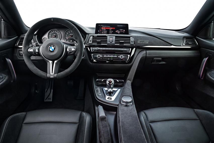 BMW M4 CS – gaya seperti M4 GTS, kuasa 460 hp Image #649824