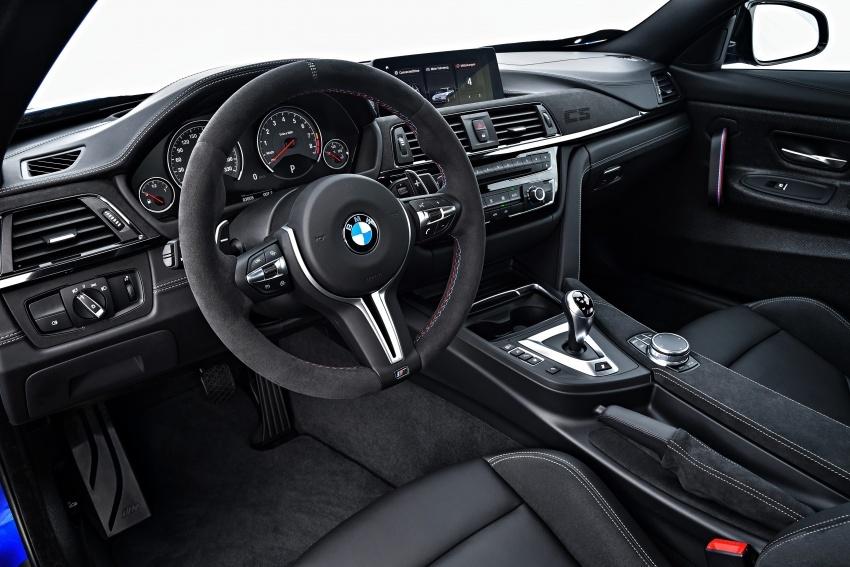 BMW M4 CS – gaya seperti M4 GTS, kuasa 460 hp Image #649823
