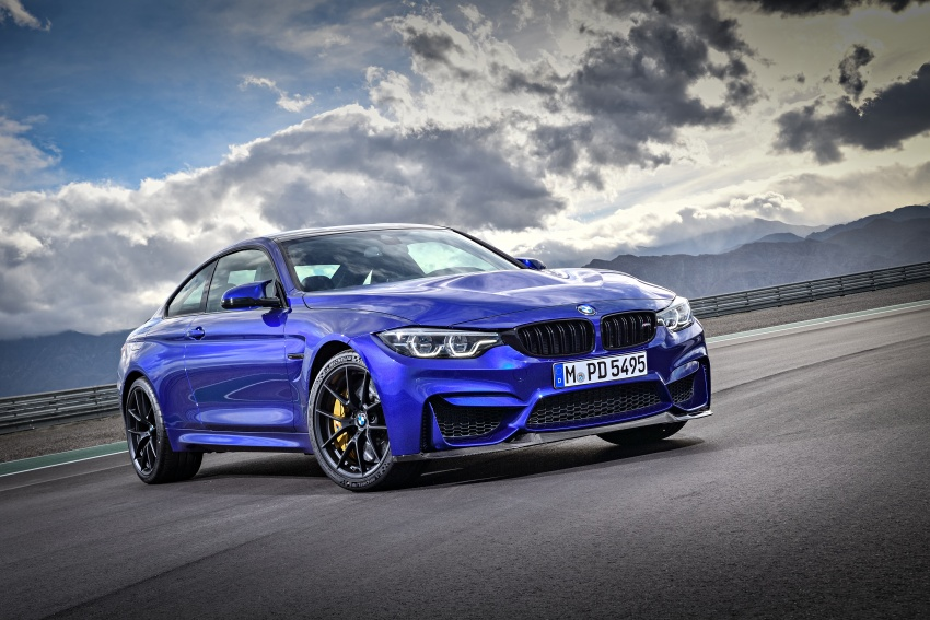 BMW M4 CS revealed with 460 hp, M4 GTS styling Image #647751