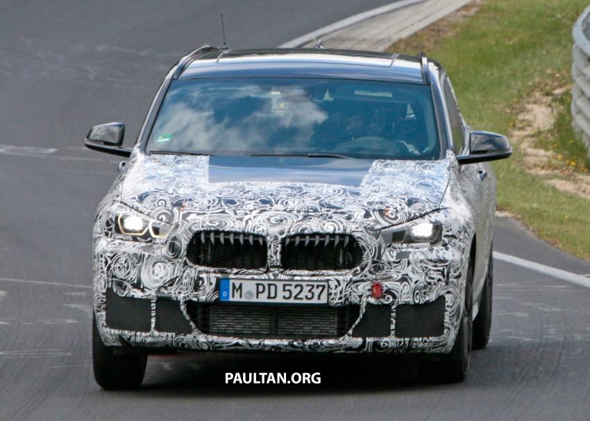 SPYSHOTS: BMW X2 undergoes Nurburgring testing Image #650522