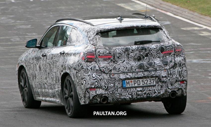 SPYSHOTS: BMW X2 undergoes Nurburgring testing Image #650536