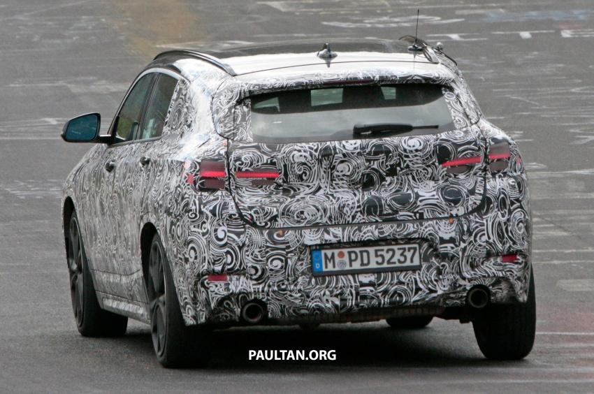 SPYSHOTS: BMW X2 undergoes Nurburgring testing Image #650537