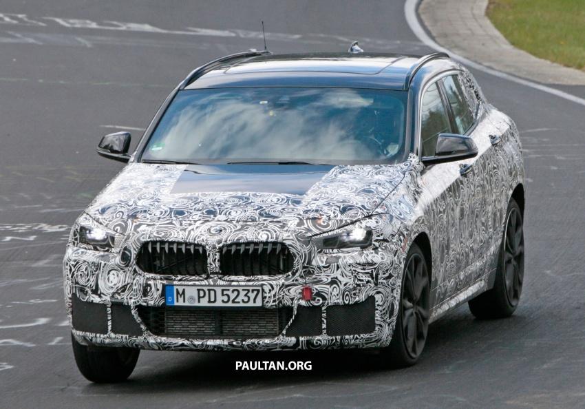 SPYSHOTS: BMW X2 undergoes Nurburgring testing Image #650523