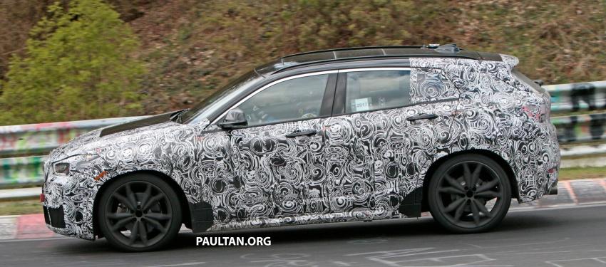 SPYSHOTS: BMW X2 undergoes Nurburgring testing Image #650528
