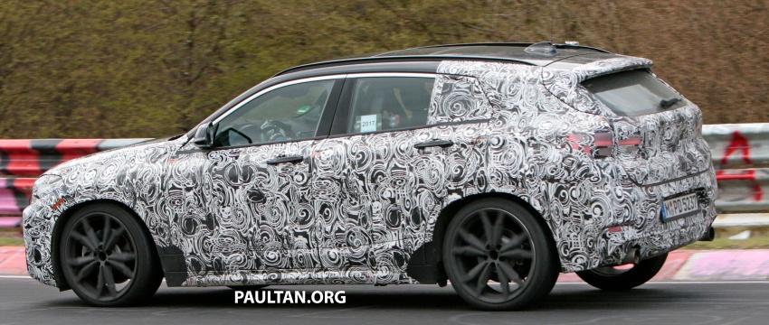 SPYSHOTS: BMW X2 undergoes Nurburgring testing Image #650529