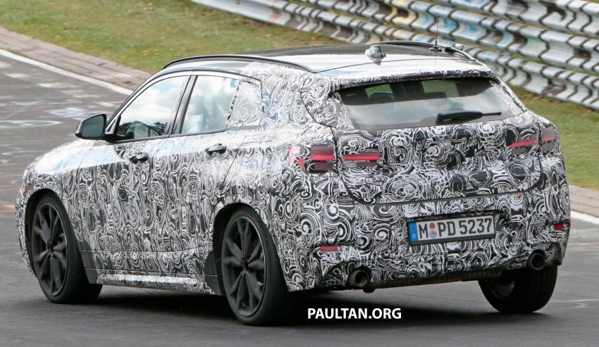 SPYSHOTS: BMW X2 undergoes Nurburgring testing Image #650531