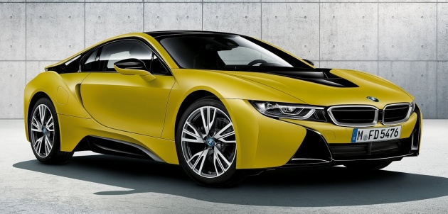Bmw I8 Protonic Frozen Yellow Special Edition In Sept