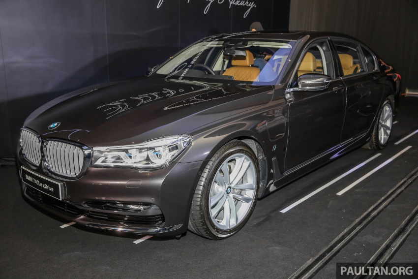 G12 BMW 7 Series plug-in hybrid officially introduced in Malaysia – 740Le xDrive, locally-assembled, RM599k Image #648123